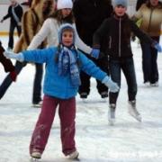 В Омске к открытию готовят катки и лыжные трассы