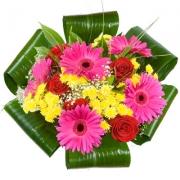 Дарим цветы: лично или через курьера?